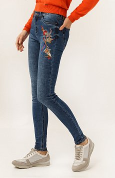Брюки женские (джинсы) A19-15008