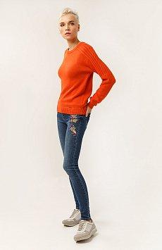 Брюки женские (джинсы), Модель A19-15008, Фото №2