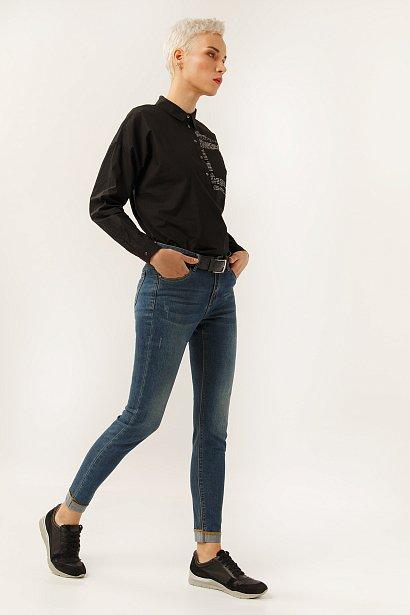 Брюки женские (джинсы), Модель A19-15004, Фото №1
