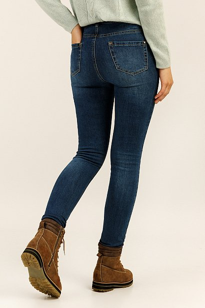 Брюки женские (джинсы), Модель A19-15009, Фото №4