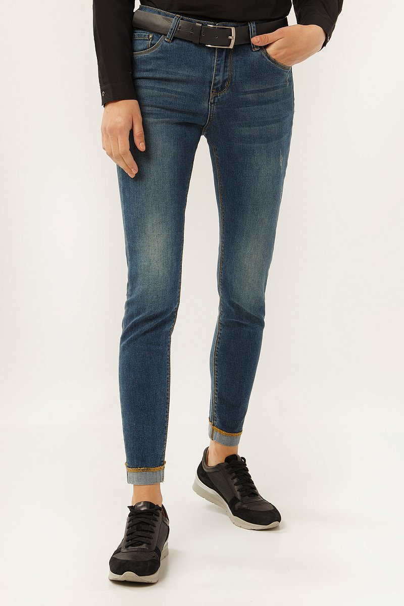 Джинсы женские, Модель A19-15004, Фото №2