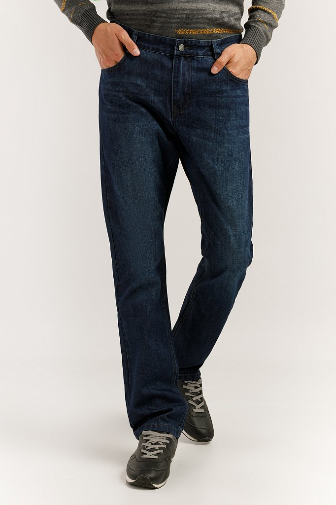 Джинсы мужские, Модель A19-25004, Фото №1