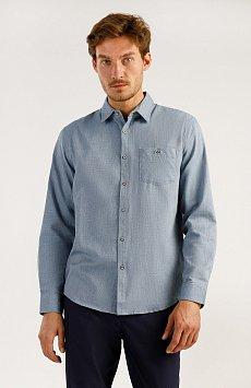 Верхняя сорочка мужская, Модель A19-22034, Фото №2