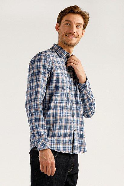 Верхняя сорочка мужская, Модель A19-22026, Фото №3