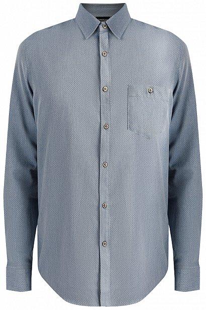 Верхняя сорочка мужская, Модель A19-22034, Фото №7