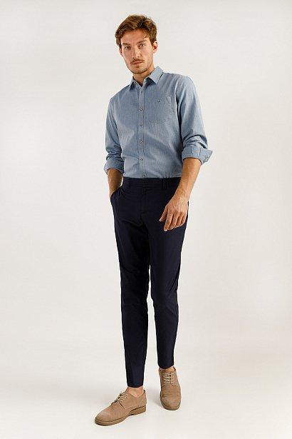Верхняя сорочка мужская, Модель A19-22034, Фото №3