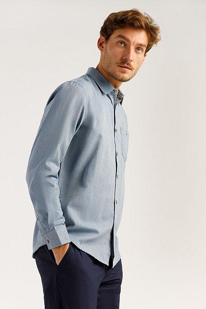 Верхняя сорочка мужская, Модель A19-22034, Фото №4