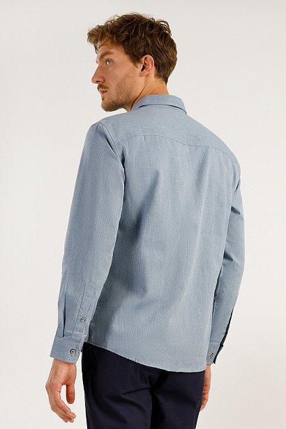 Верхняя сорочка мужская, Модель A19-22034, Фото №5