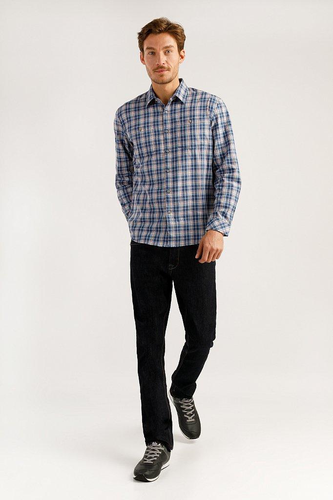 Верхняя сорочка мужская, Модель A19-22026, Фото №2
