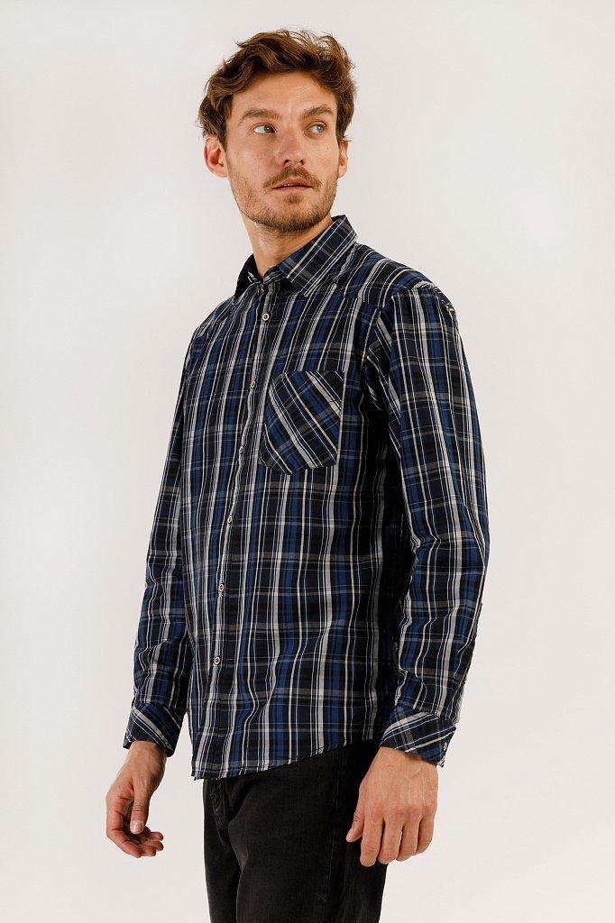 Верхняя сорочка мужская, Модель A19-22037, Фото №3