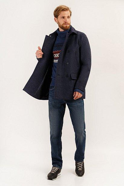 Полупальто мужское, Модель A19-42004, Фото №2