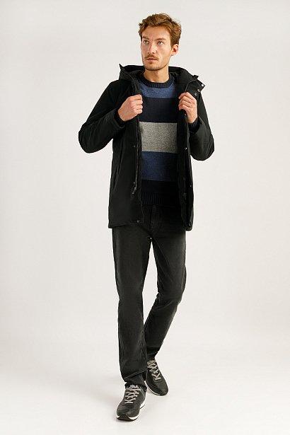 Полупальто мужское, Модель A19-42029, Фото №2