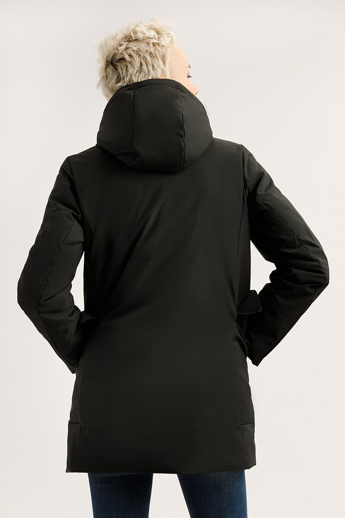 Полупальто женское, Модель A19-12094, Фото №4