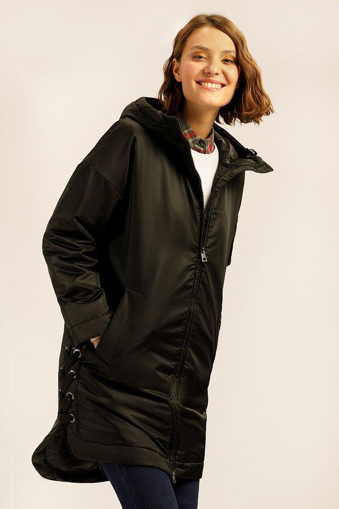 Полупальто женское, Модель A19-32007, Фото №1