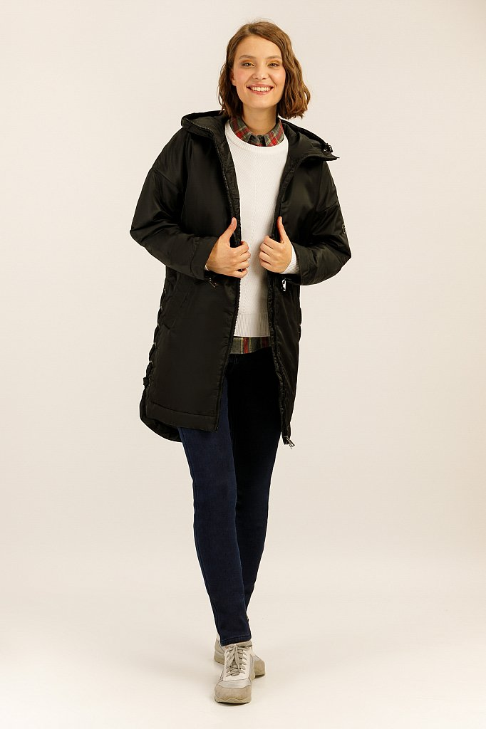 Полупальто женское, Модель A19-32007, Фото №2