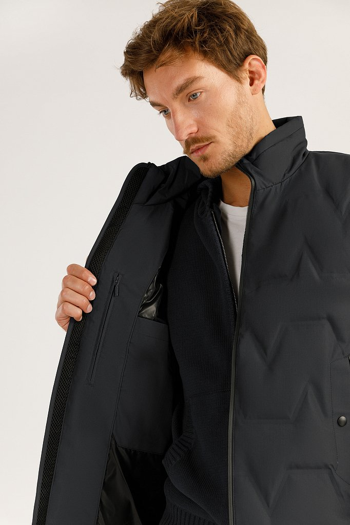 Куртка мужская, Модель A19-42028, Фото №5