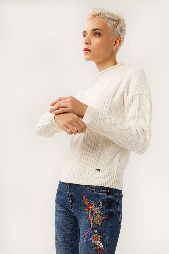 Джемпер женский, Модель A19-12102, Фото №3