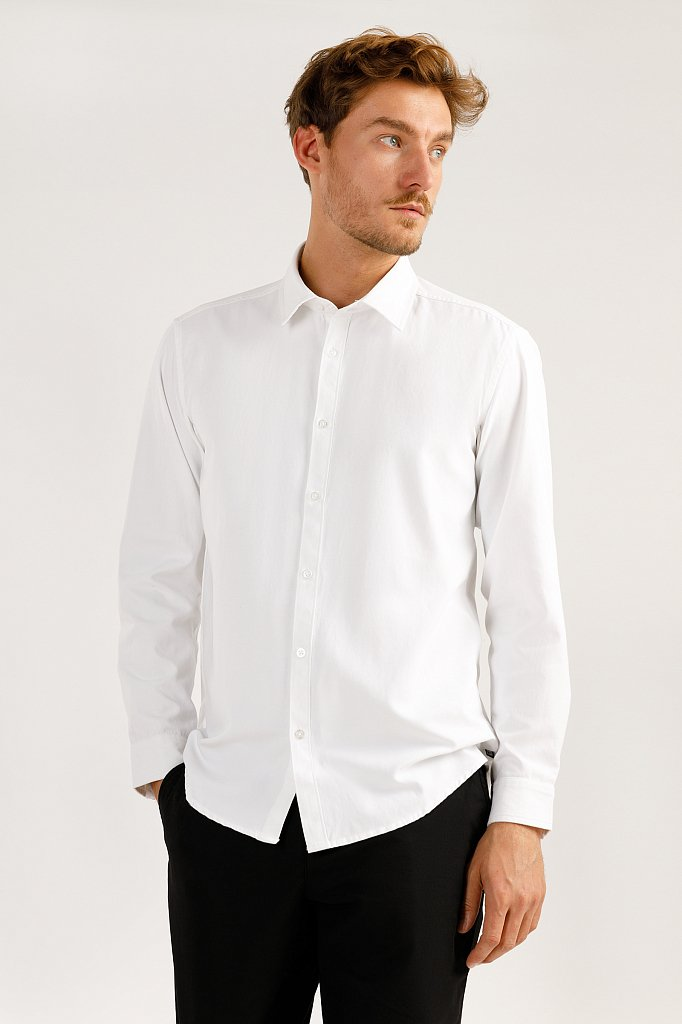 Верхняя сорочка мужская, Модель A19-21032, Фото №2