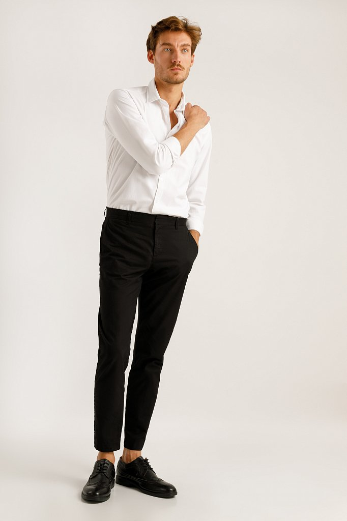 Верхняя сорочка мужская, Модель A19-21032, Фото №3