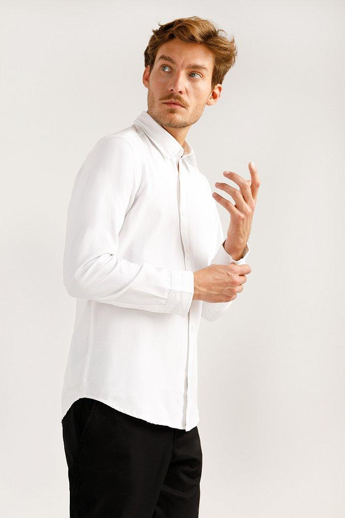 Верхняя сорочка мужская, Модель A19-21032, Фото №4