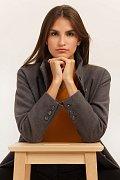 Пальто женское, Модель A19-12030, Фото №1