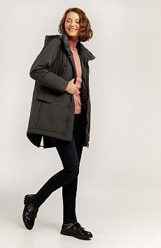 Полупальто женское, Модель A19-11016, Фото №2