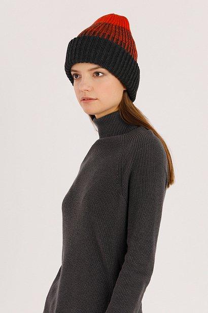Шапка женская, Модель A19-12136, Фото №2
