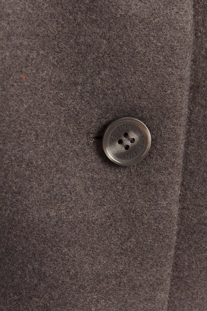 Пальто женское, Модель A19-12030, Фото №6