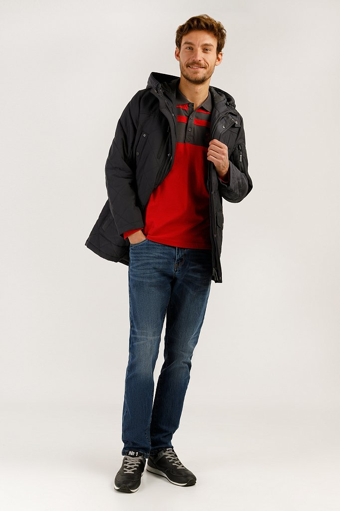 Полупальто мужское, Модель A19-22005, Фото №2