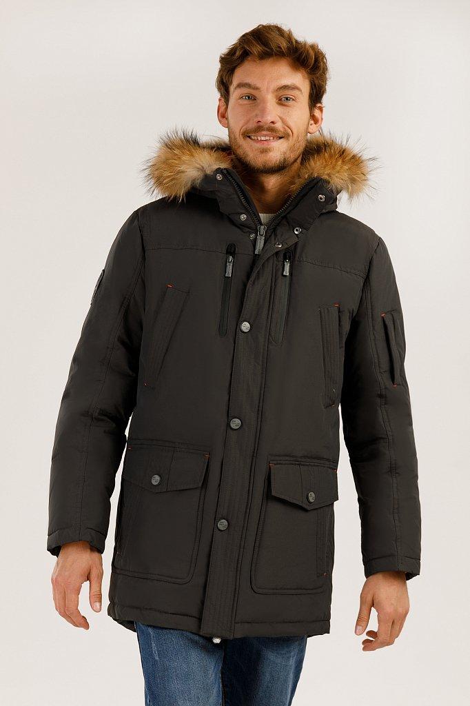 Пальто мужское, Модель A19-22007, Фото №1