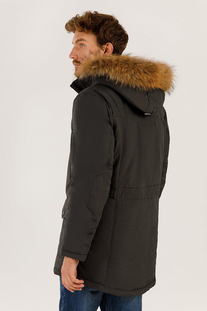 Пальто мужское, Модель A19-22007, Фото №4