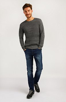 Джемпер мужской, Модель A19-21105, Фото №1