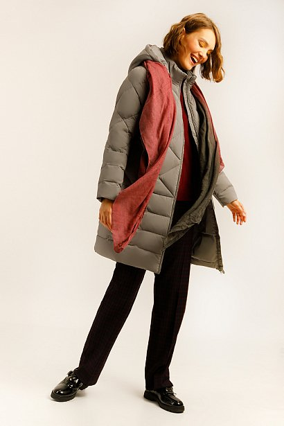Пальто женское, Модель A19-11026, Фото №2