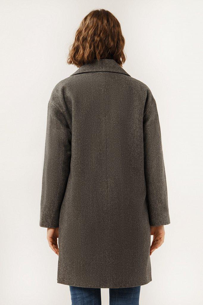Полупальто женское, Модель A19-11001, Фото №5