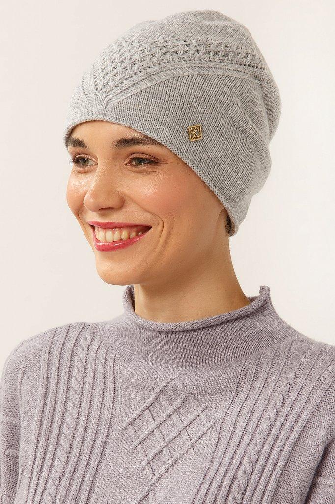 Шапка женская, Модель A19-11163, Фото №2
