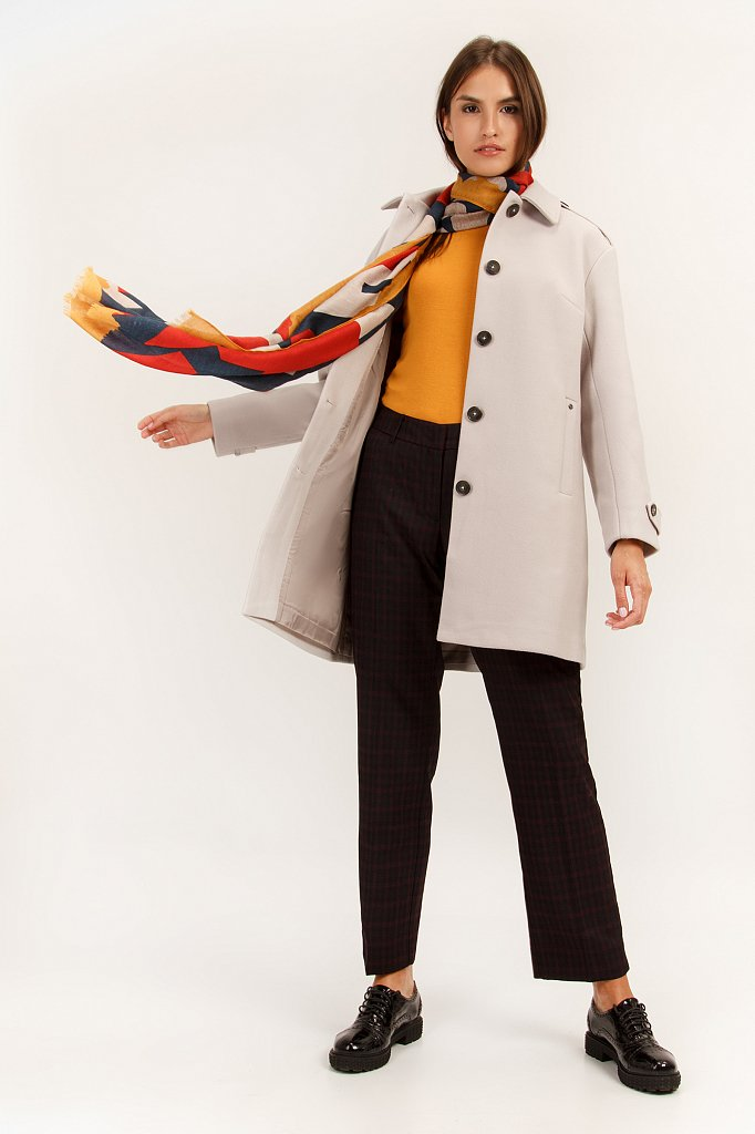 Полупальто женское, Модель A19-12024, Фото №3