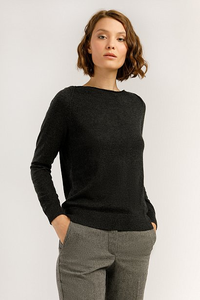 Джемпер женский, Модель A19-11103, Фото №1