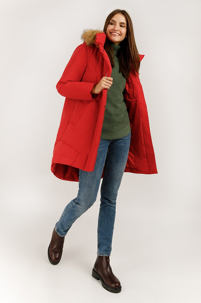 Куртка женская, Модель A19-12046, Фото №2