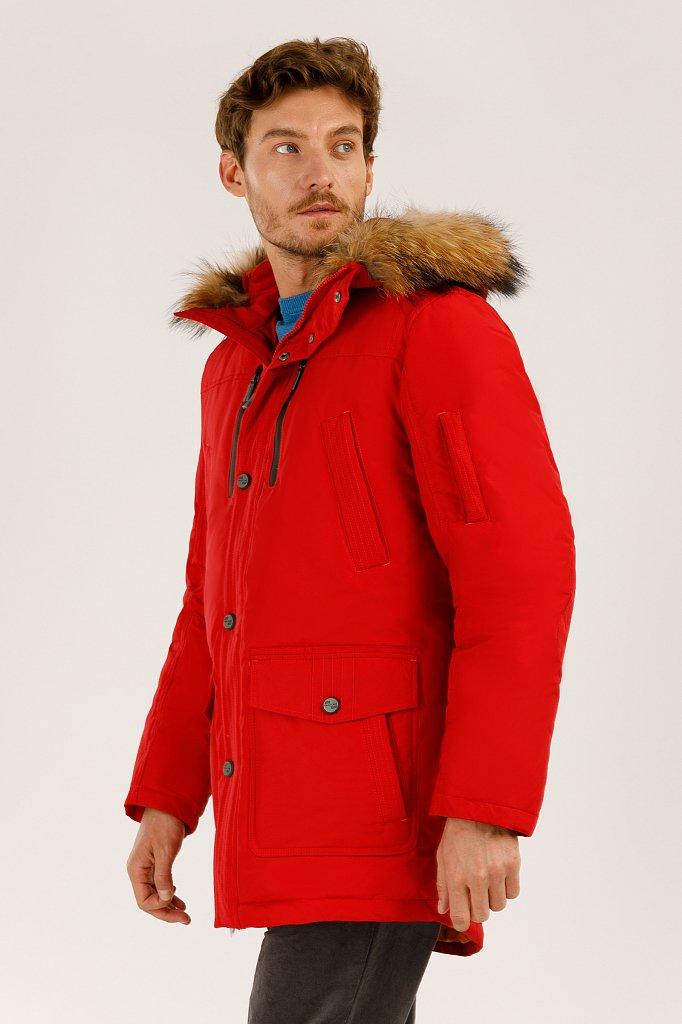 Пальто мужское, Модель A19-22007, Фото №3