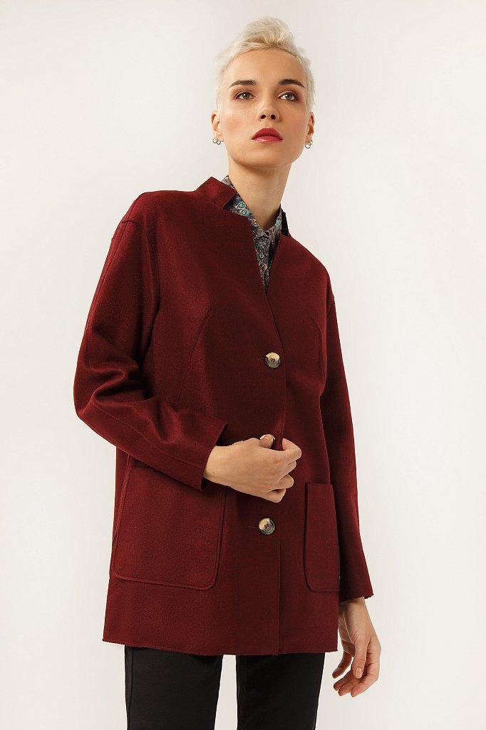 Пальто женское, Модель A19-12041, Фото №1