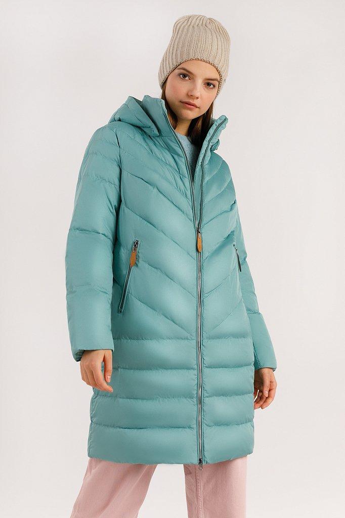 Пальто женское, Модель A19-12007, Фото №1