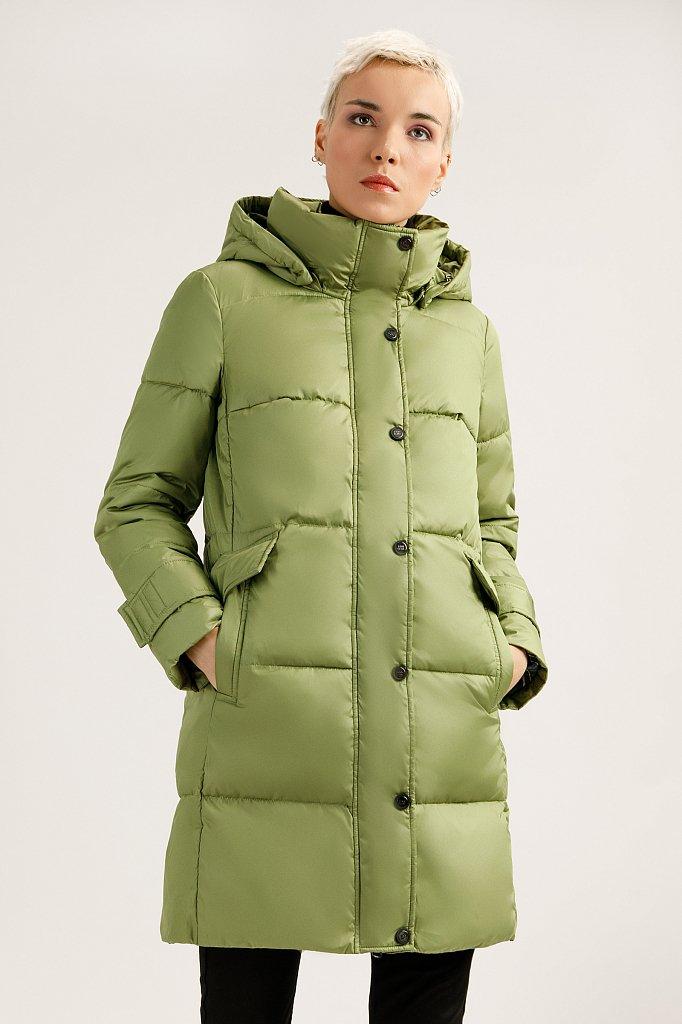 Пальто женское, Модель A19-32019, Фото №1