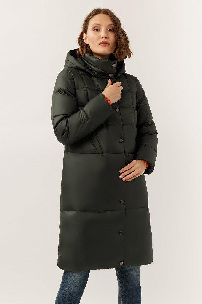 Пальто женское, Модель A19-12047, Фото №1