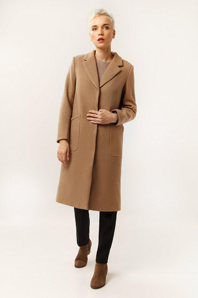 Пальто женское, Модель A19-12025, Фото №1