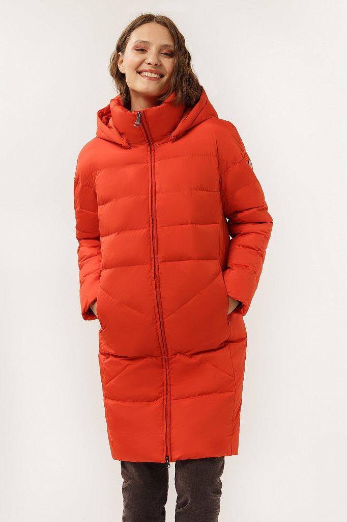 Пальто женское, Модель A19-12028F, Фото №1