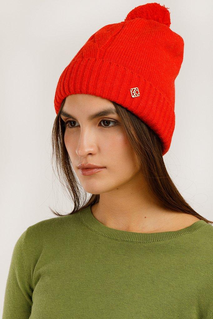 Шапка женская, Модель A19-12138, Фото №2