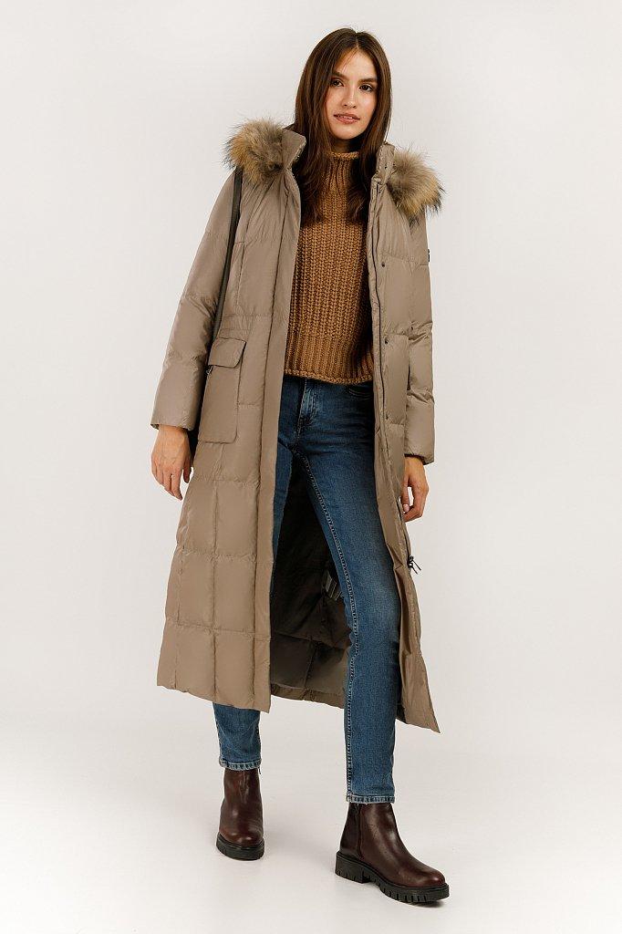 Пальто женское, Модель A19-11015, Фото №2
