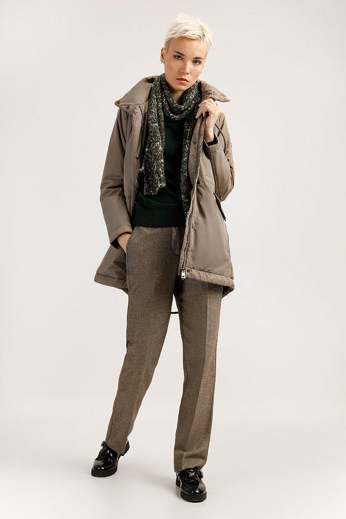 Полупальто женское, Модель A19-11016, Фото №1