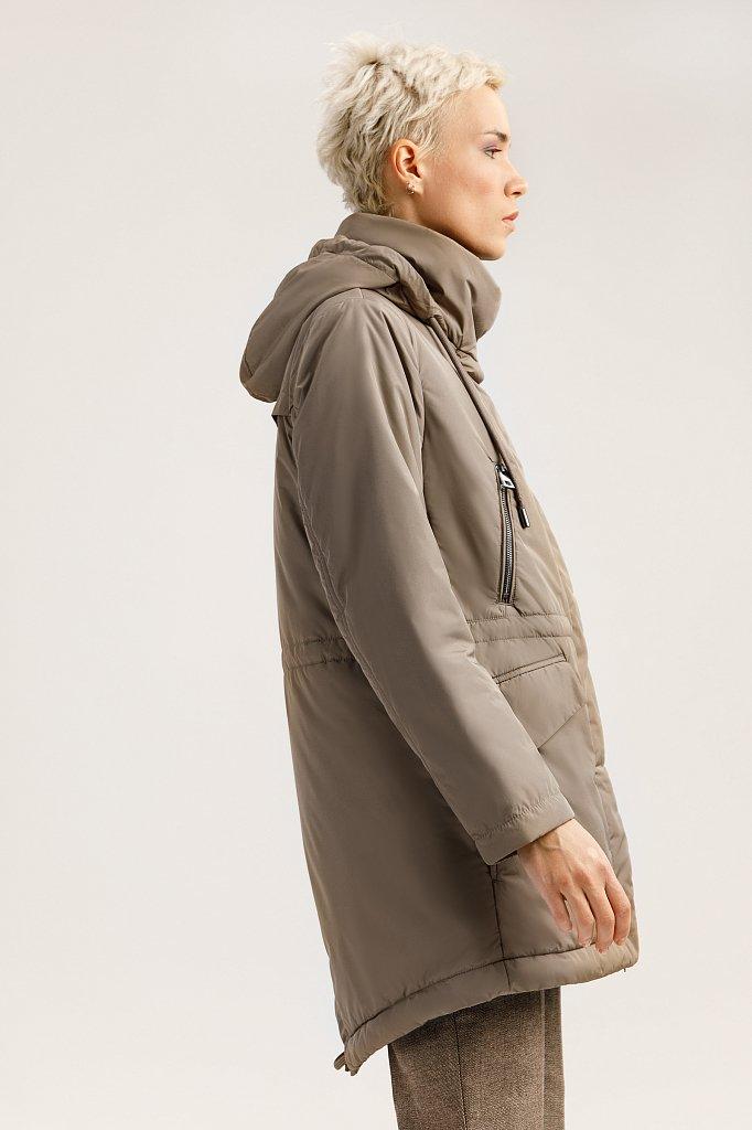 Полупальто женское, Модель A19-11016, Фото №3