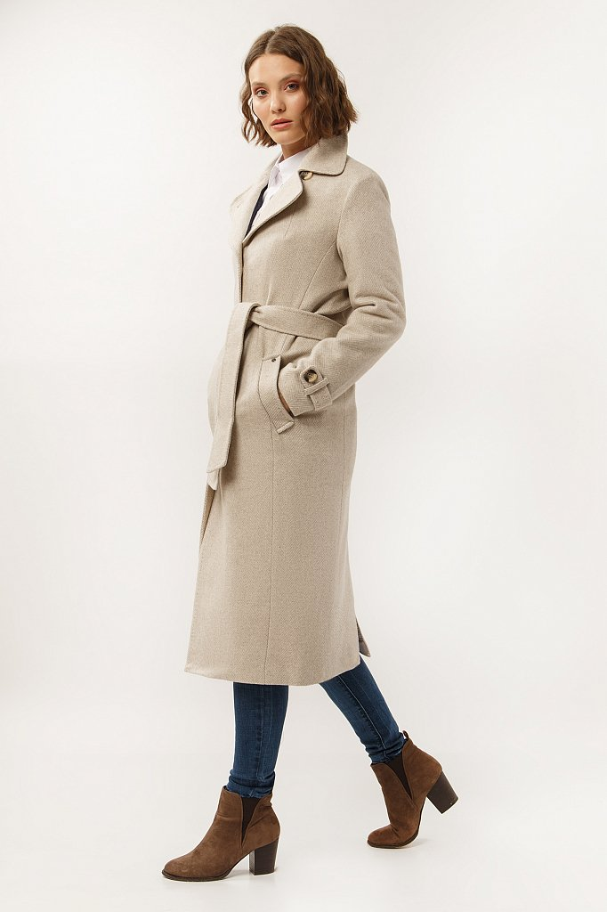 Пальто женское, Модель A19-11000, Фото №3